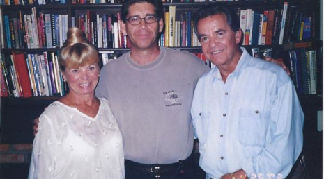 with Kari and Dick Clark, at dick clark productions, Burbank CA 2004